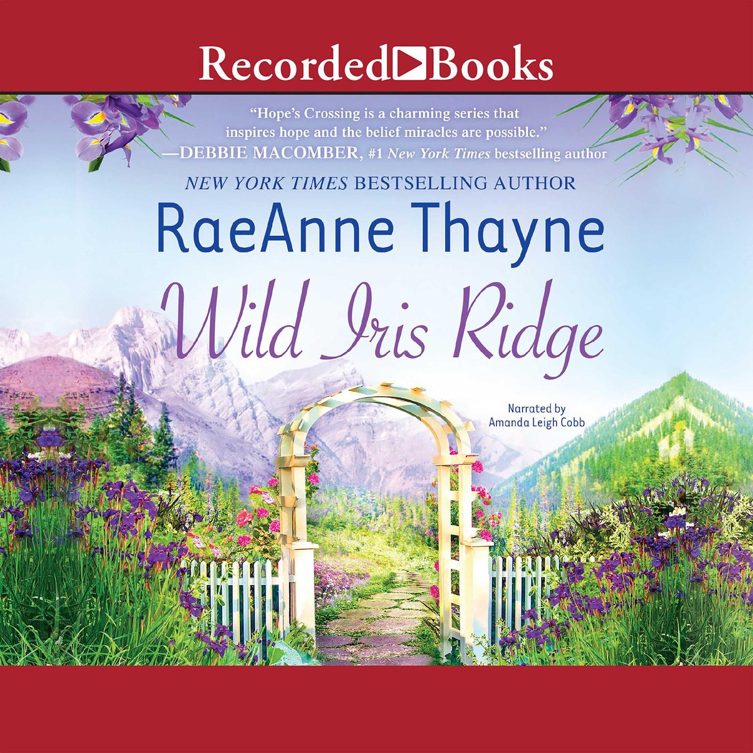 Printable Wild Iris Ridge Audiobook Cover Art