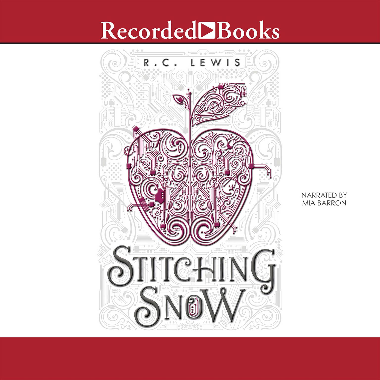 Printable Stitching Snow Audiobook Cover Art