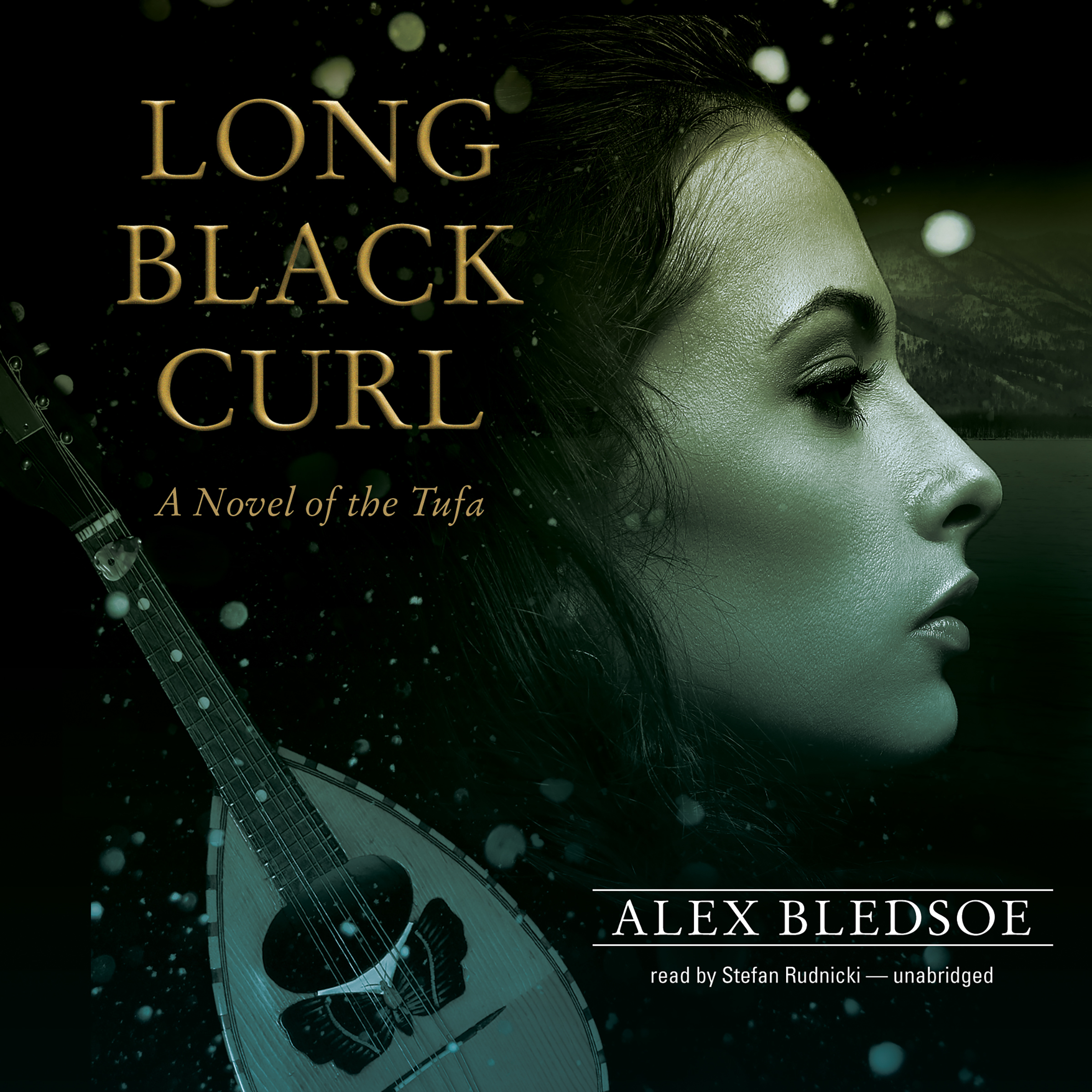 Printable Long Black Curl: A Novel of the Tufa Audiobook Cover Art
