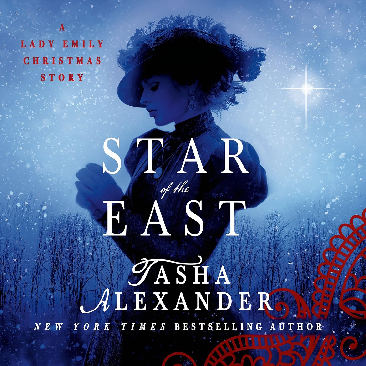 Printable Star of the East: A Lady Emily Christmas Story Audiobook Cover Art