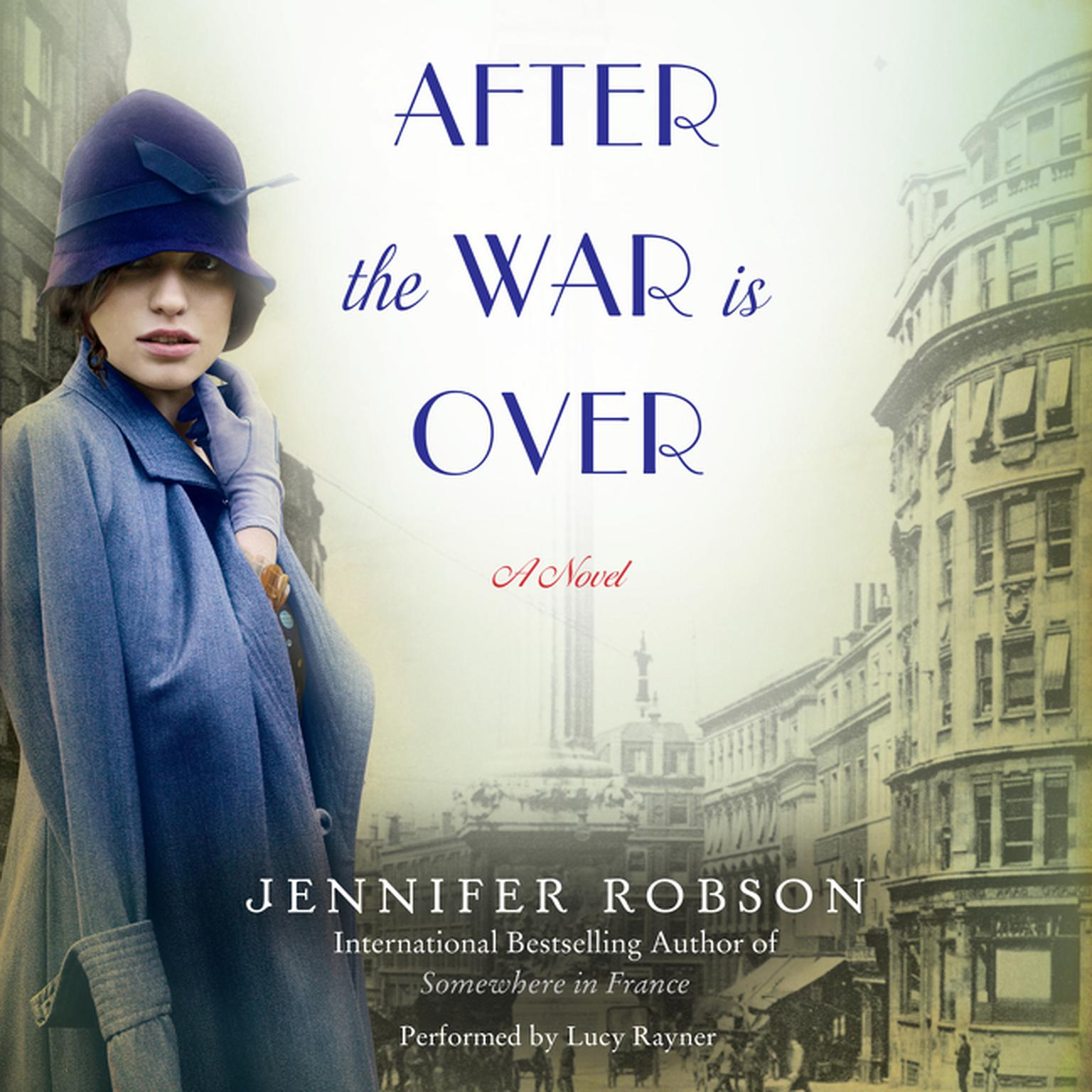 Printable After the War is Over: A Novel Audiobook Cover Art
