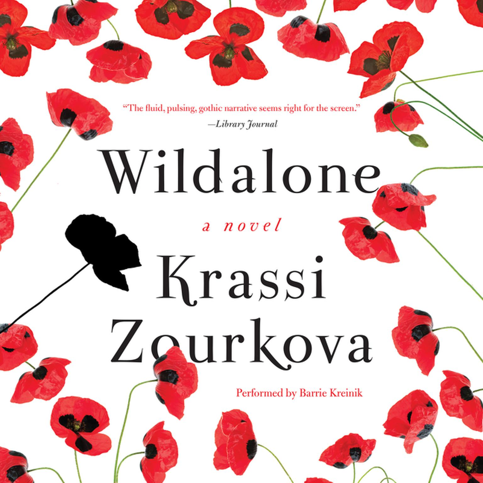 Printable Wildalone: A Novel Audiobook Cover Art