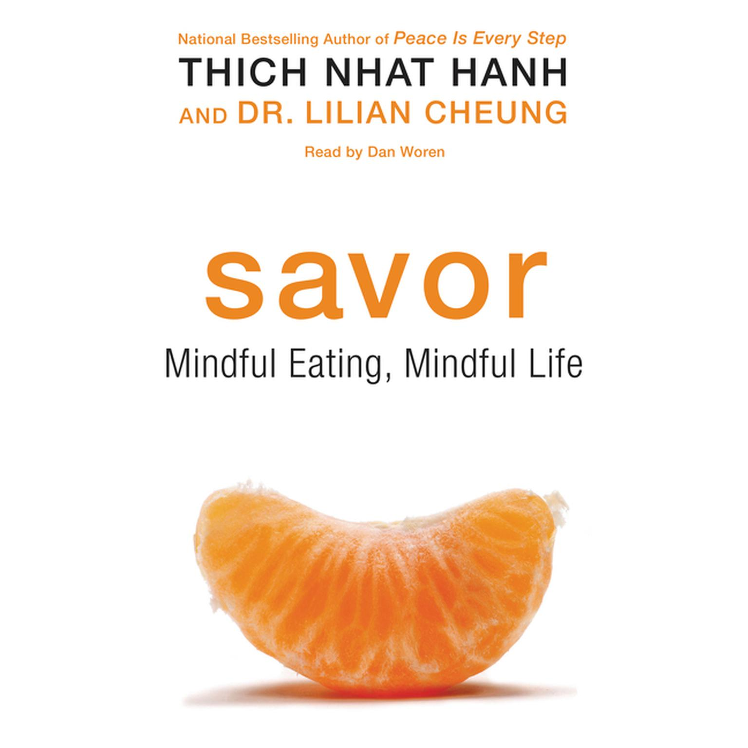 Printable Savor: Mindful Eating, Mindful Life Audiobook Cover Art