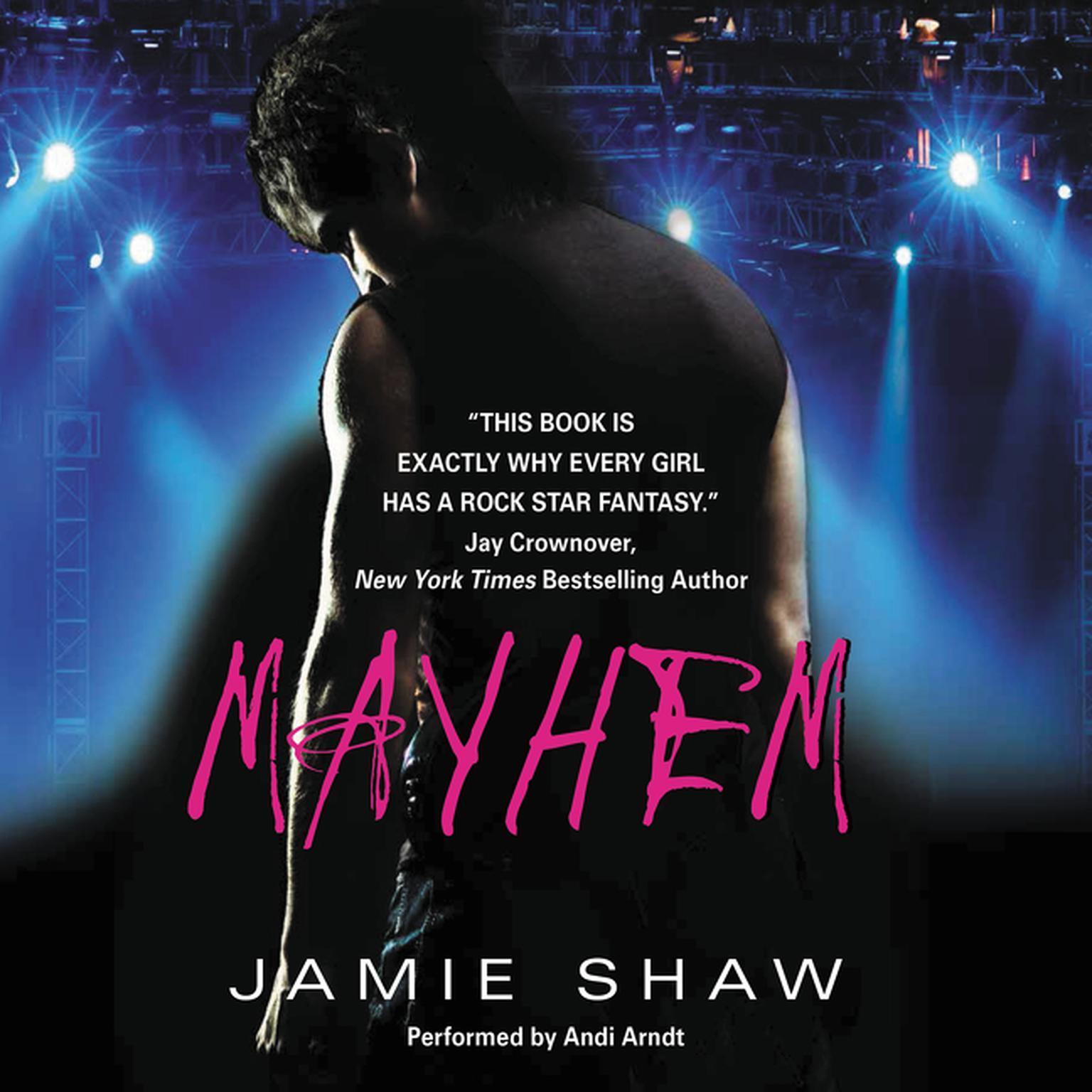 Printable Mayhem Audiobook Cover Art