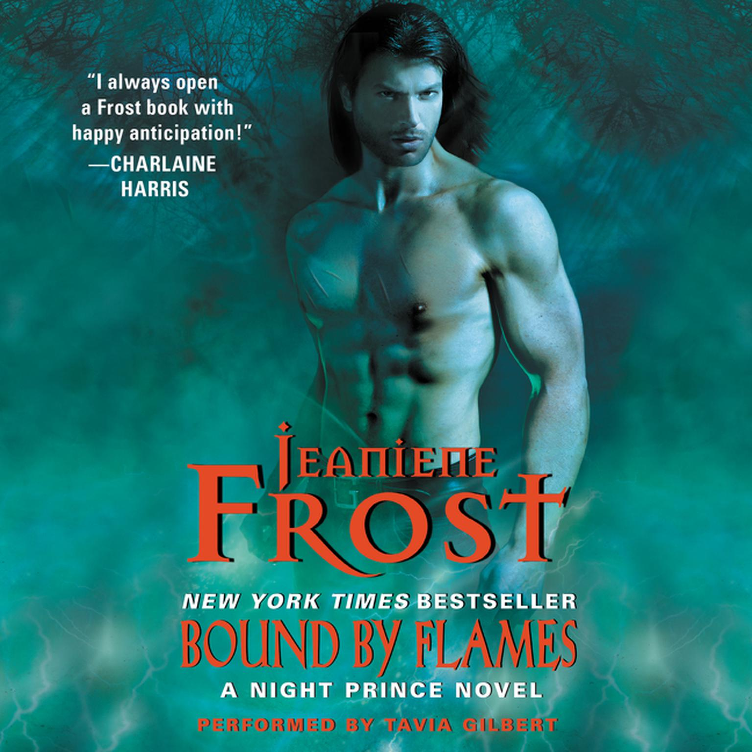 Printable Bound by Flames: A Night Prince Novel Audiobook Cover Art