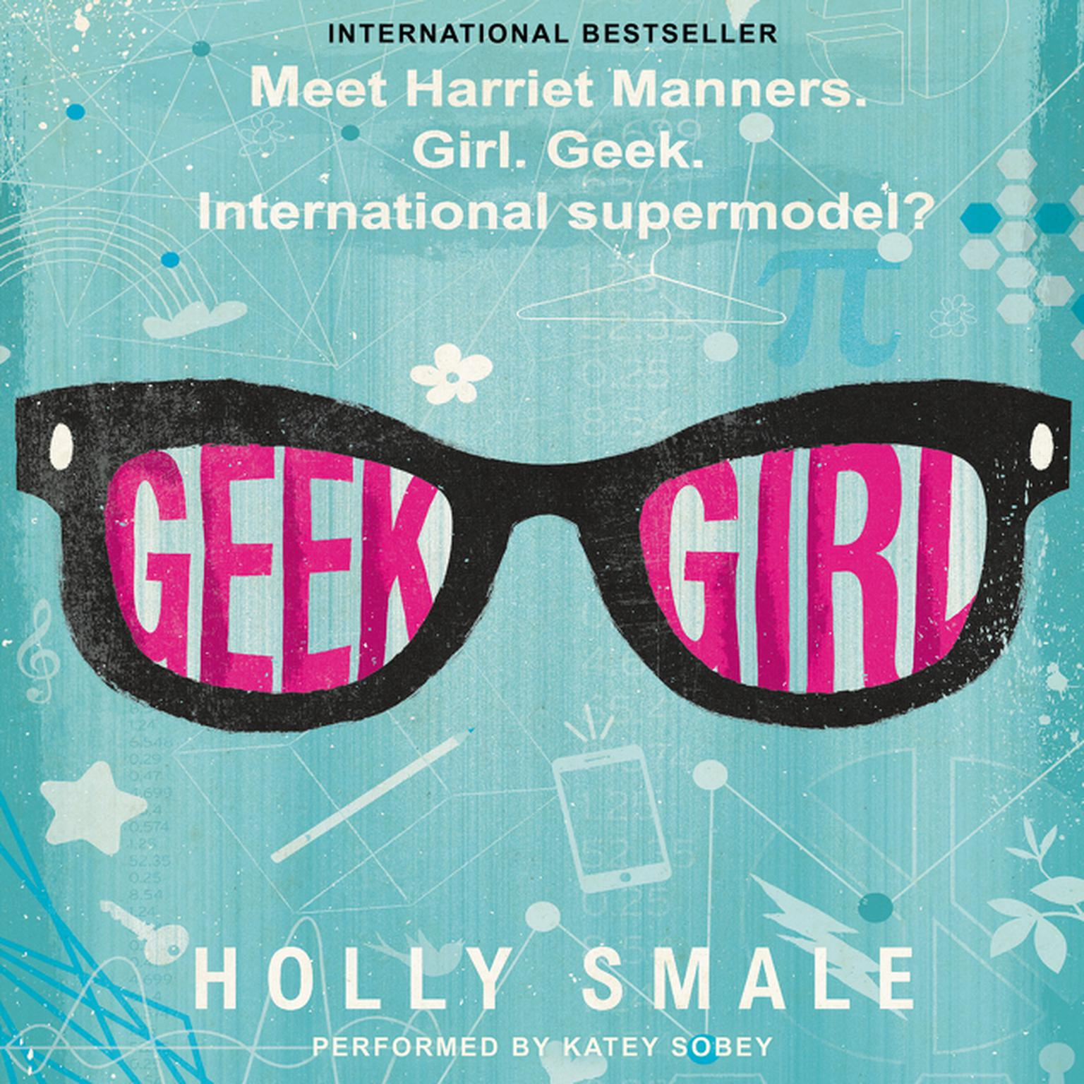Printable Geek Girl Audiobook Cover Art
