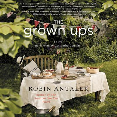 The Grown Ups: A Novel Audiobook, by Robin Antalek