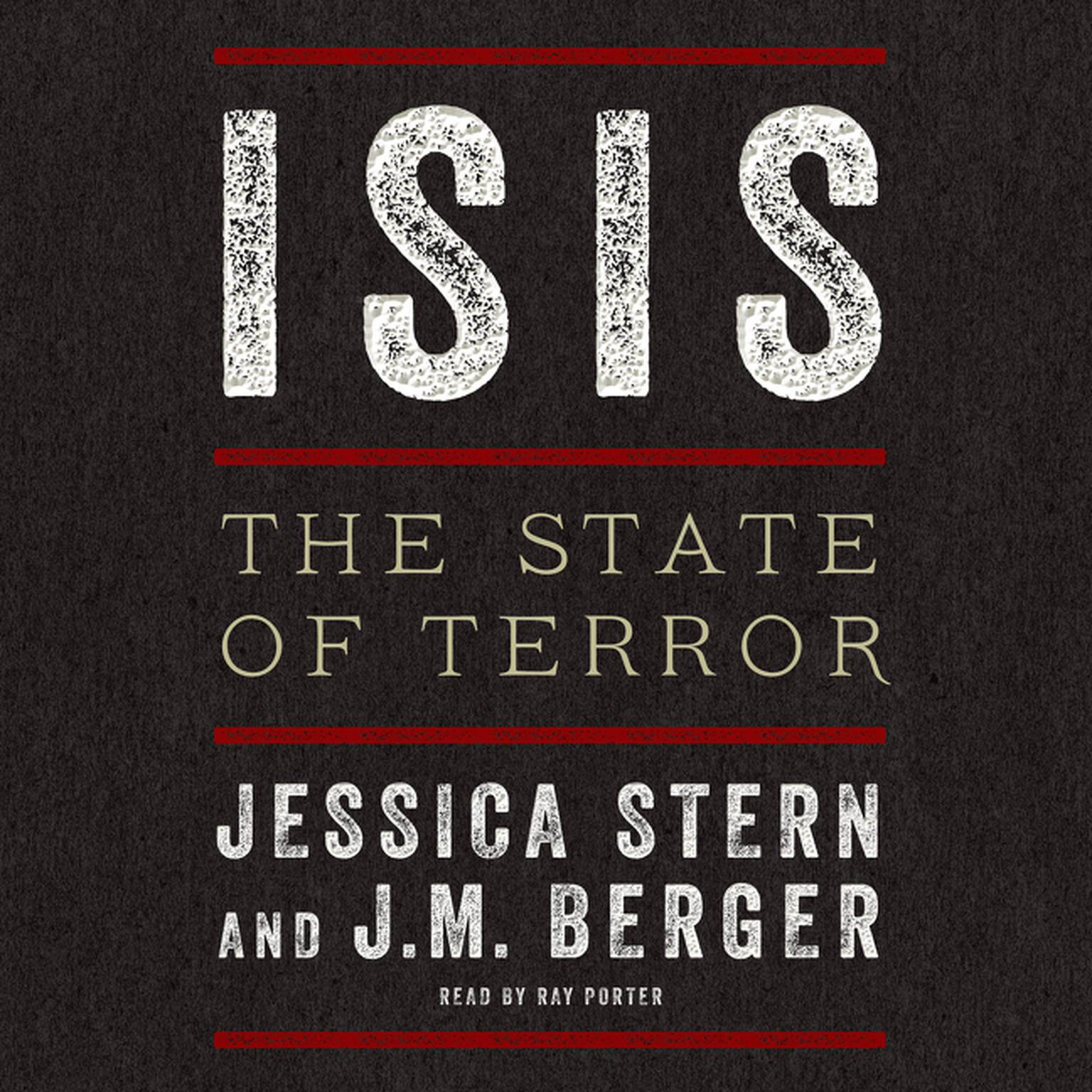 Printable ISIS: The State of Terror Audiobook Cover Art