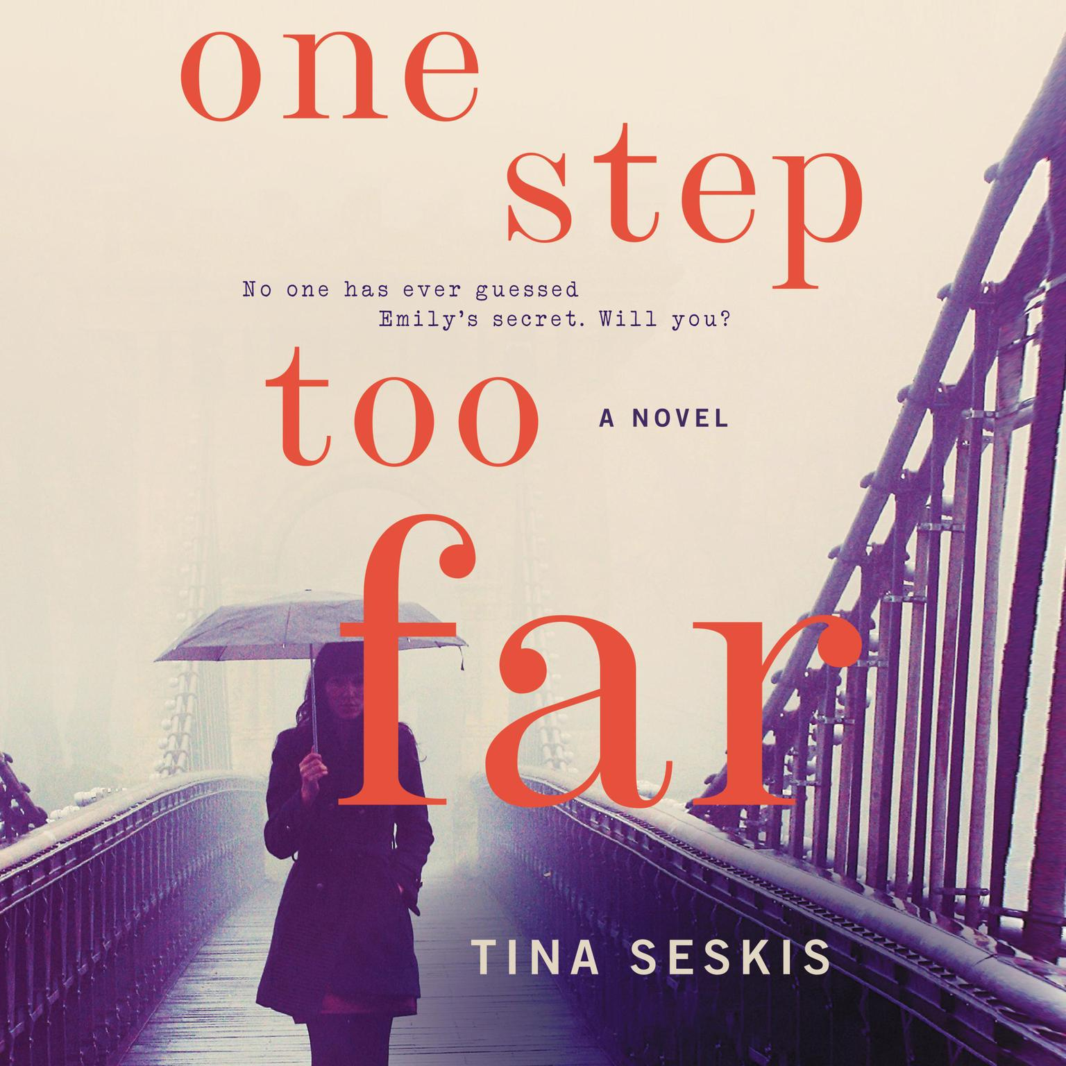 Printable One Step Too Far: A Novel Audiobook Cover Art