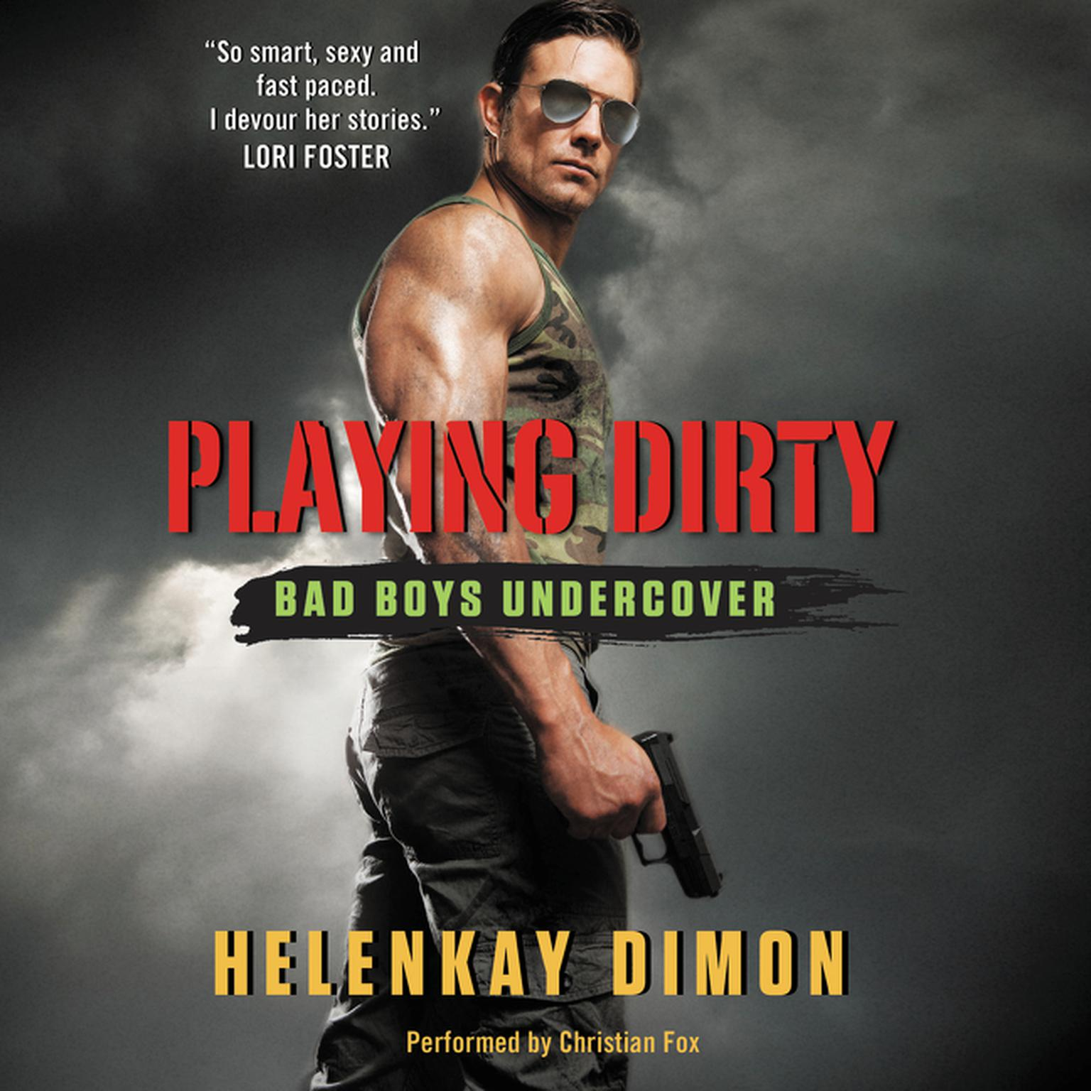 Printable Playing Dirty: Bad Boys Undercover Audiobook Cover Art