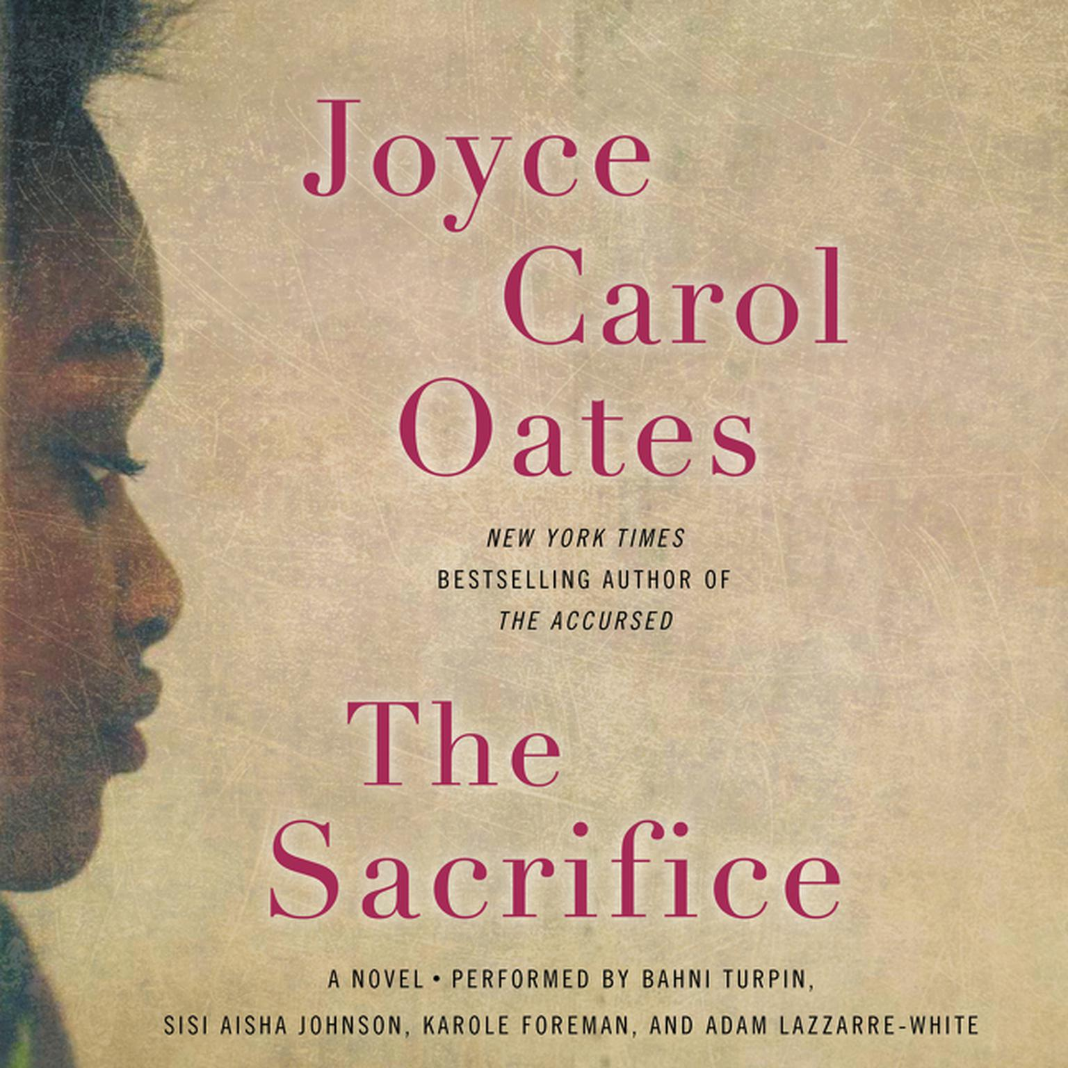 Printable The Sacrifice: A   Novel Audiobook Cover Art