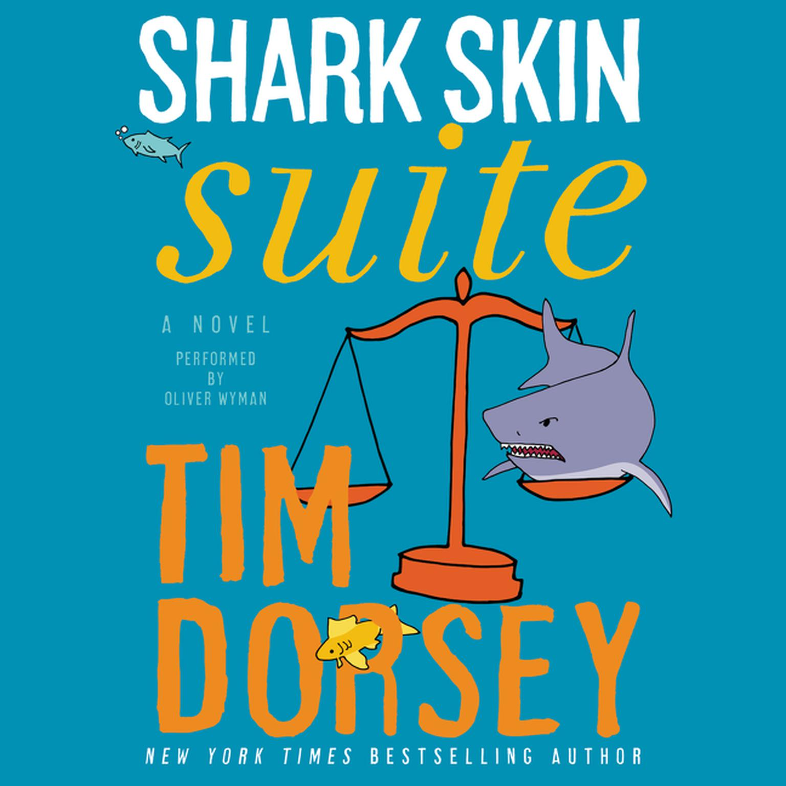 Printable Shark Skin Suite: A Novel Audiobook Cover Art