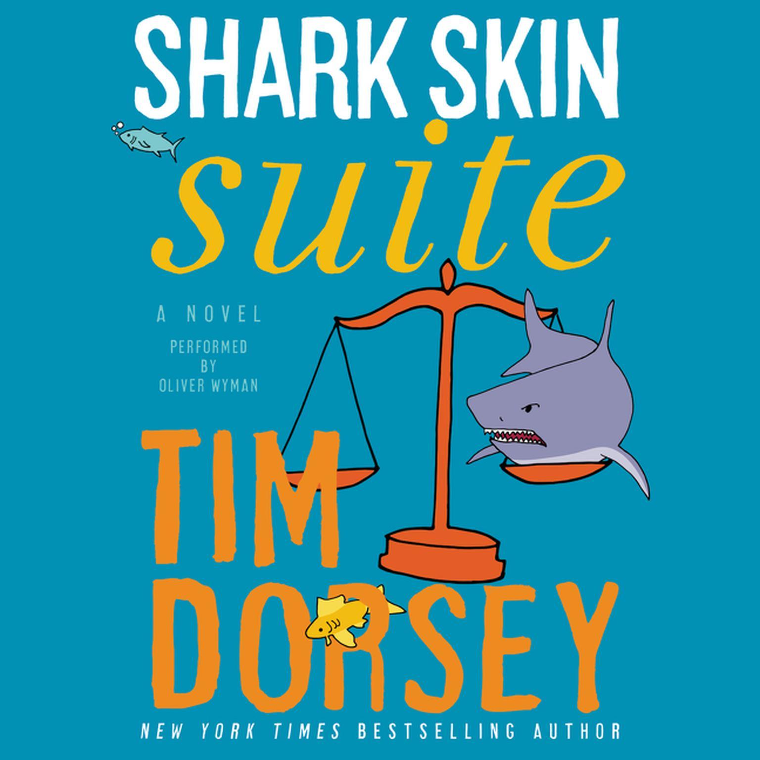 Printable Shark Skin Suite Audiobook Cover Art