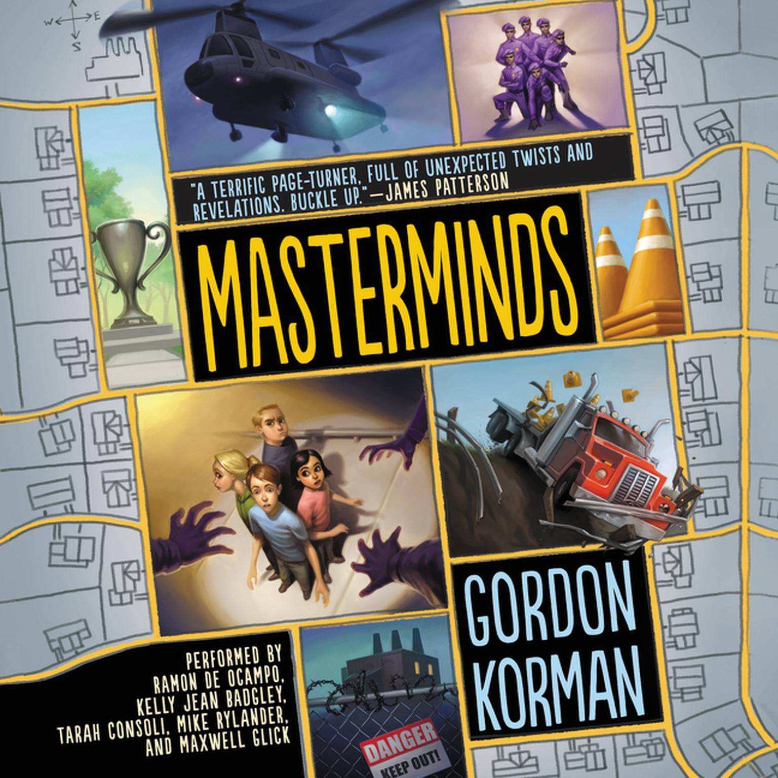 Printable Masterminds Audiobook Cover Art