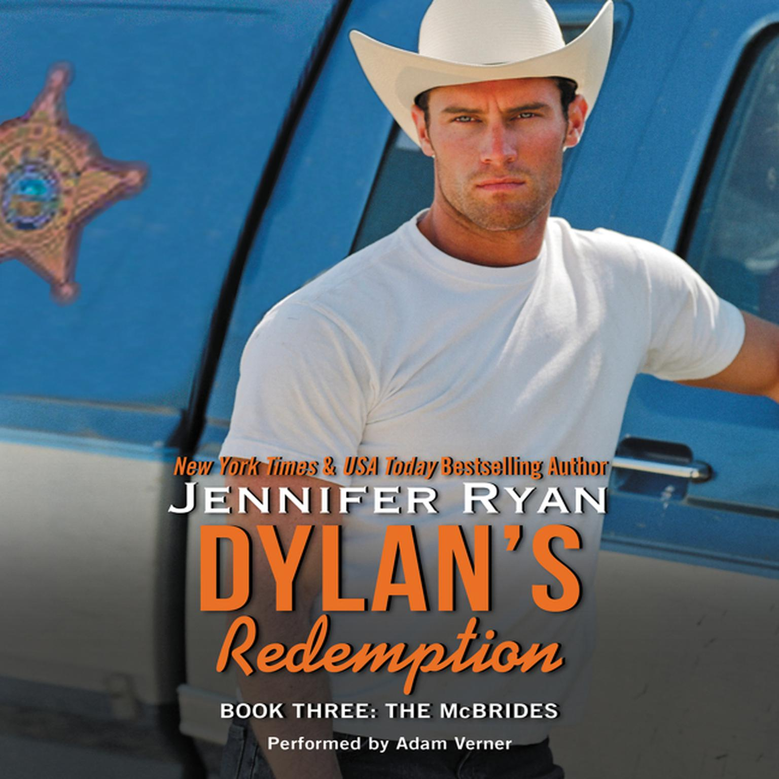 Printable Dylan's Redemption: Book Three: The McBrides Audiobook Cover Art