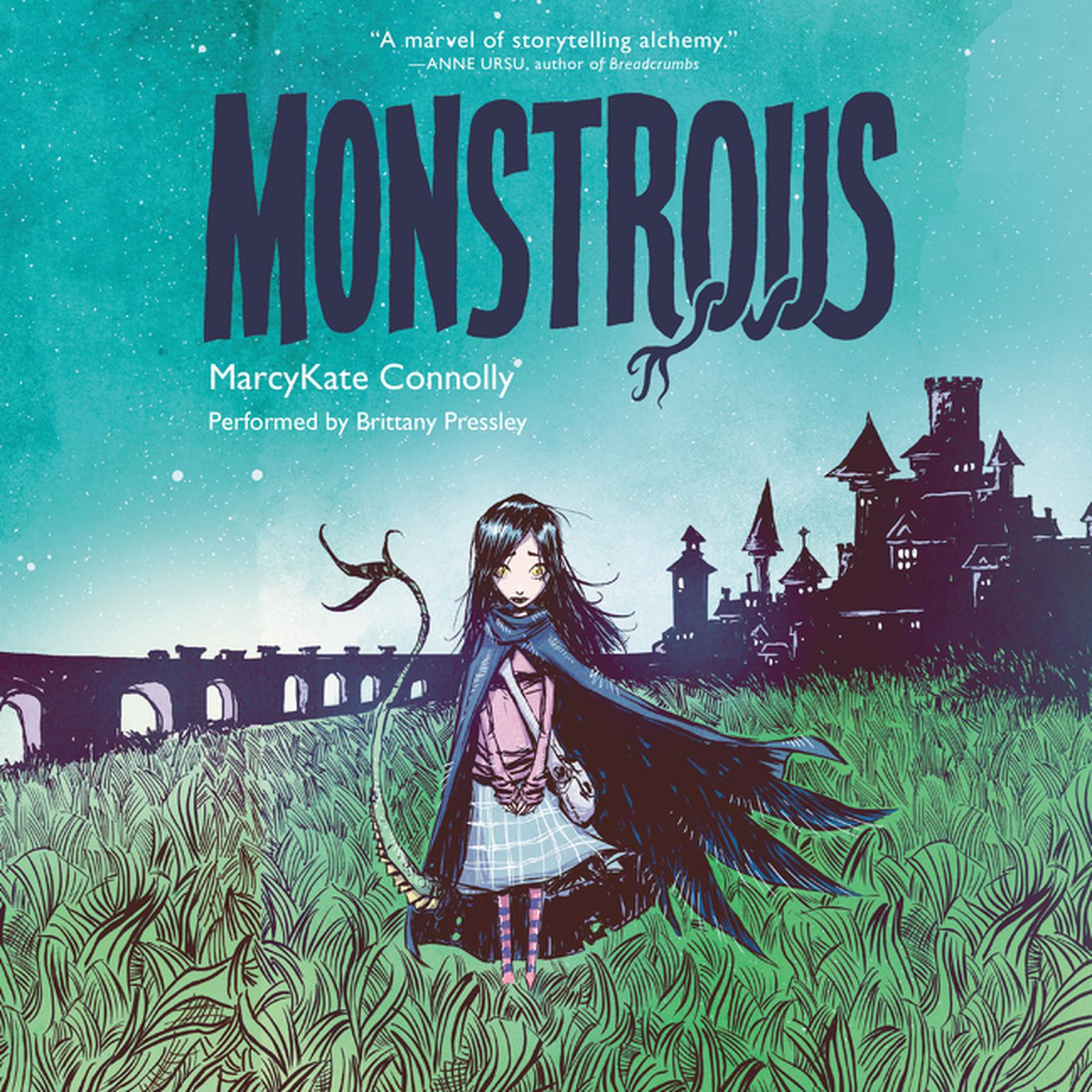 Printable Monstrous Audiobook Cover Art