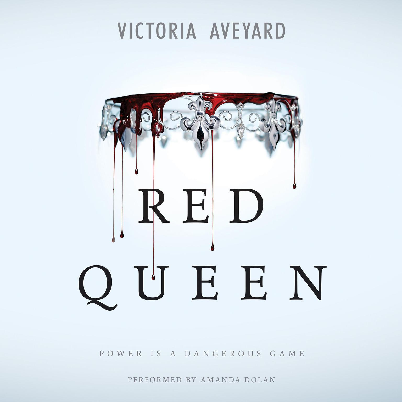 Printable Red Queen Audiobook Cover Art