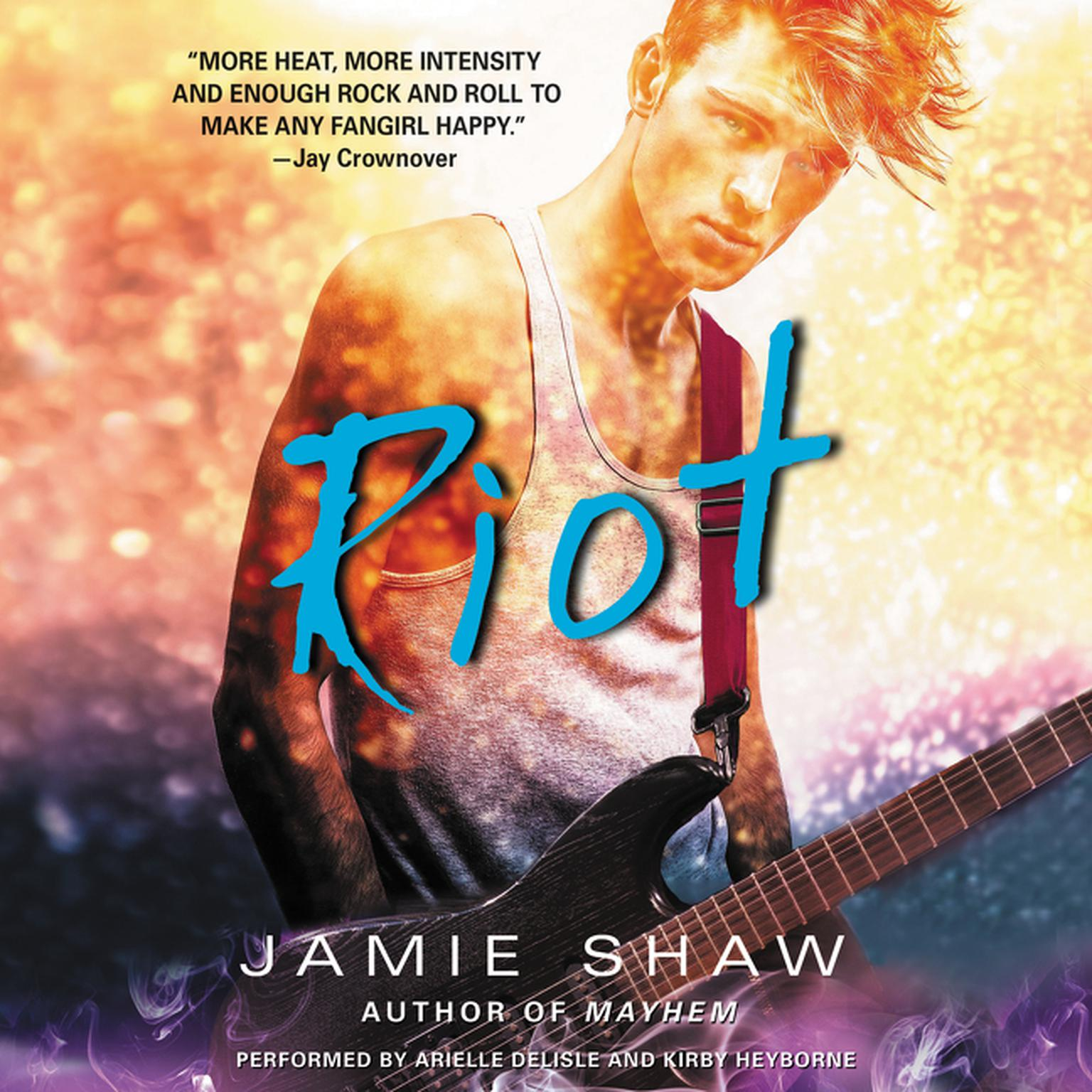 Printable Riot Audiobook Cover Art