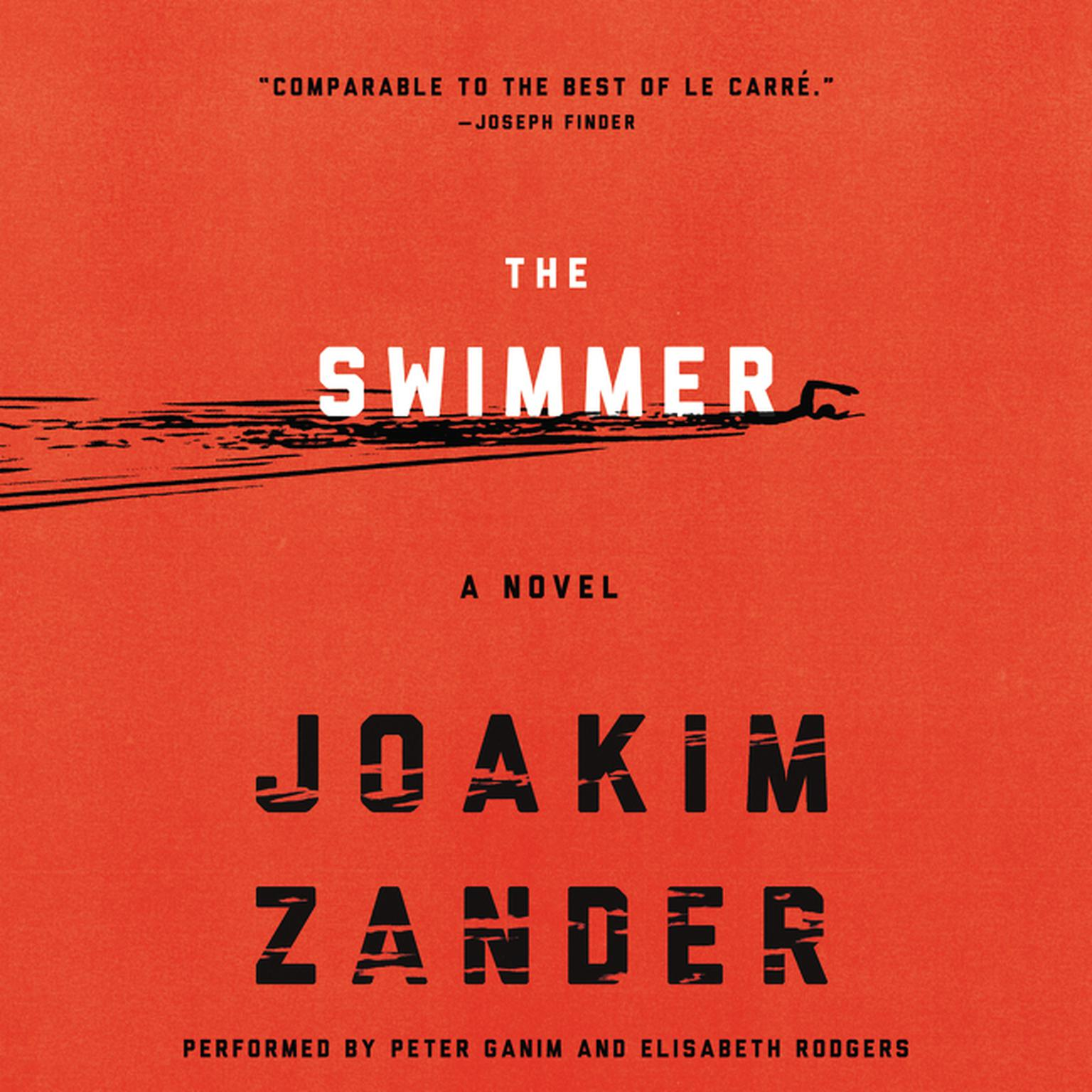 Printable The Swimmer: A Novel Audiobook Cover Art
