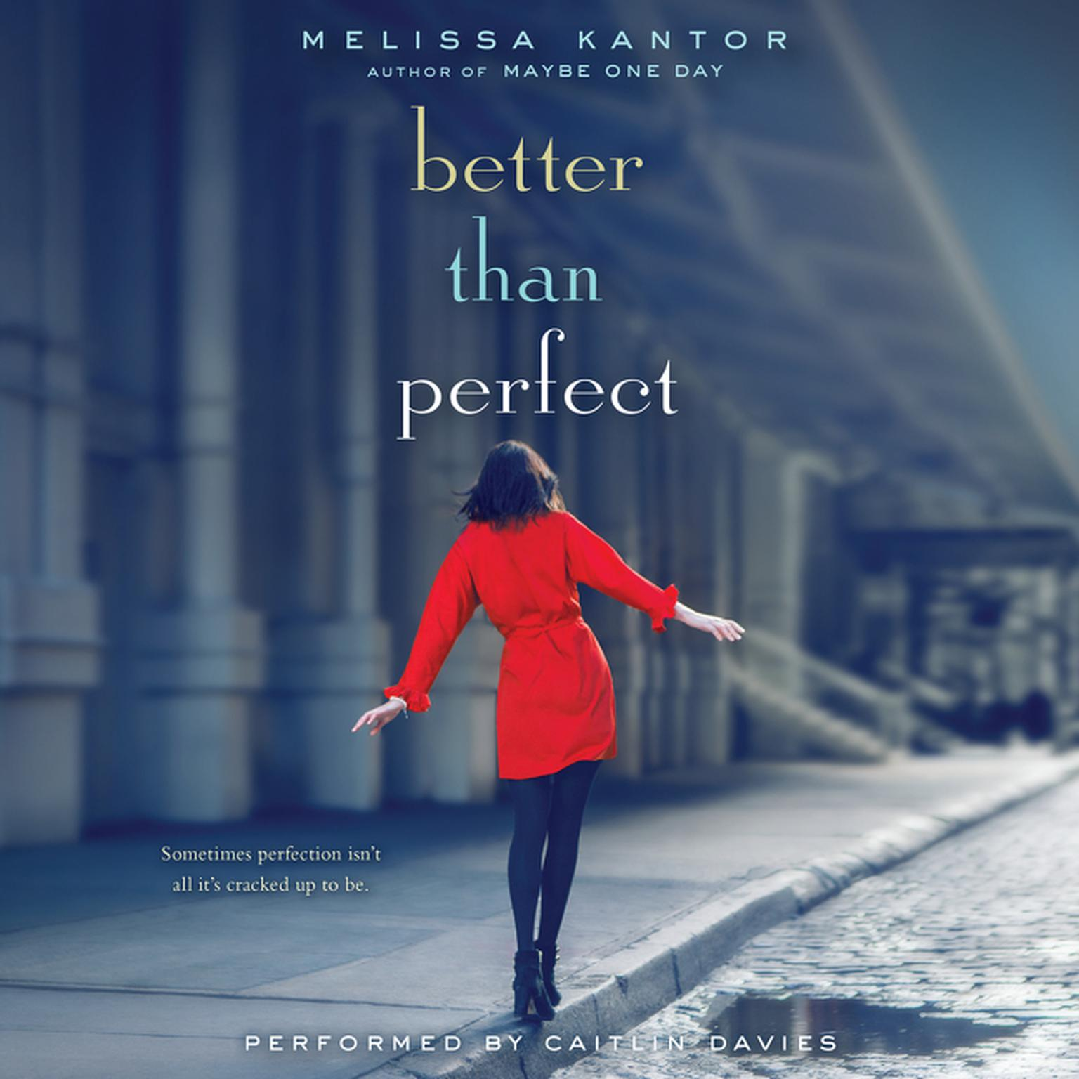 Printable Better Than Perfect Audiobook Cover Art