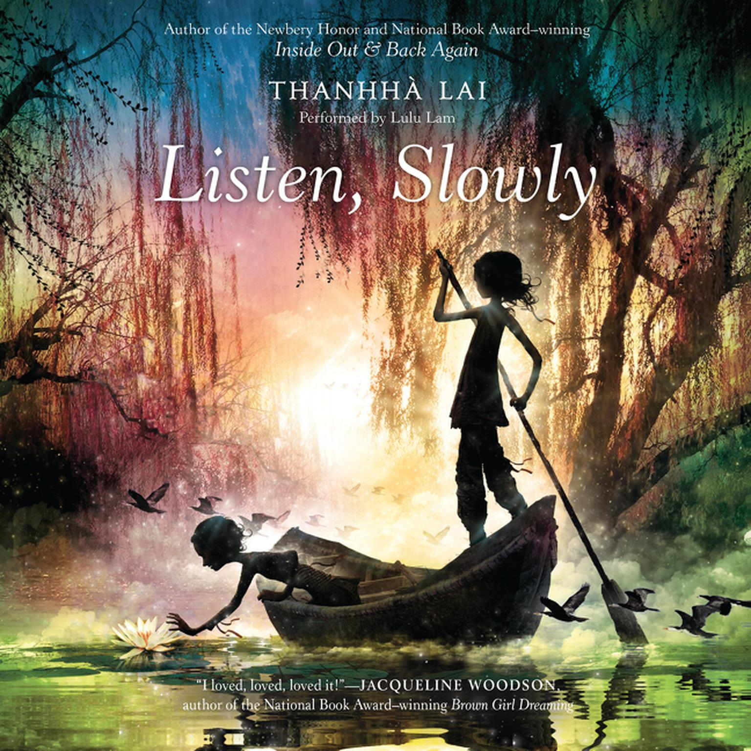 Printable Listen, Slowly Audiobook Cover Art