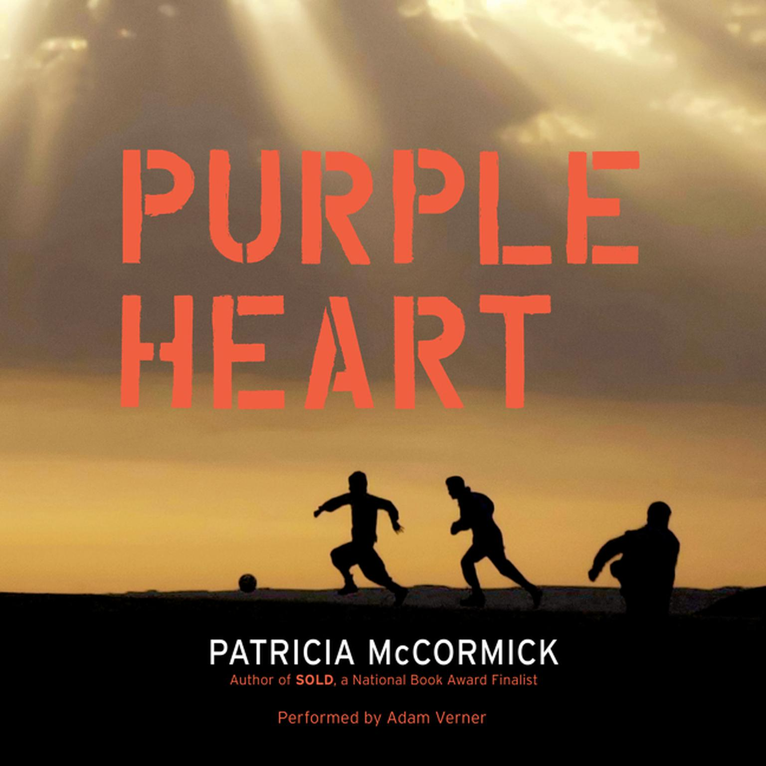 Printable Purple Heart Audiobook Cover Art