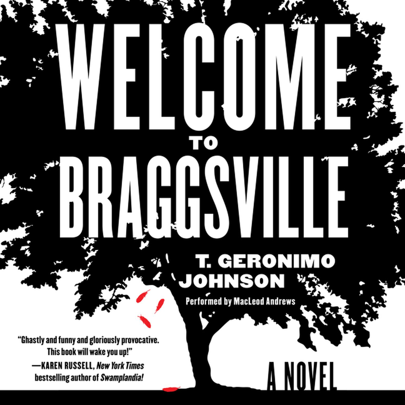 Printable Welcome to Braggsville: A Novel Audiobook Cover Art