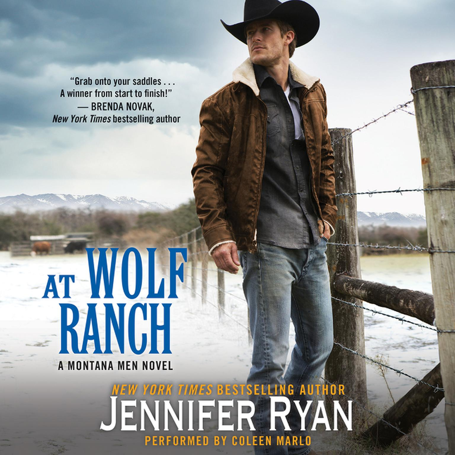 Printable At Wolf Ranch: A Montana Men Novel Audiobook Cover Art