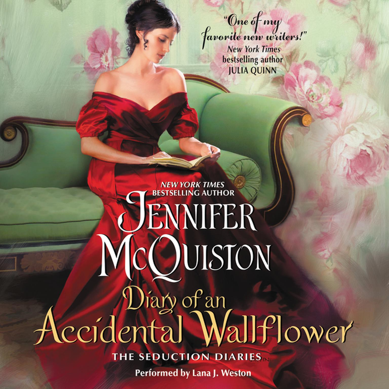 Printable Diary of an Accidental Wallflower: The Seduction Diaries Audiobook Cover Art