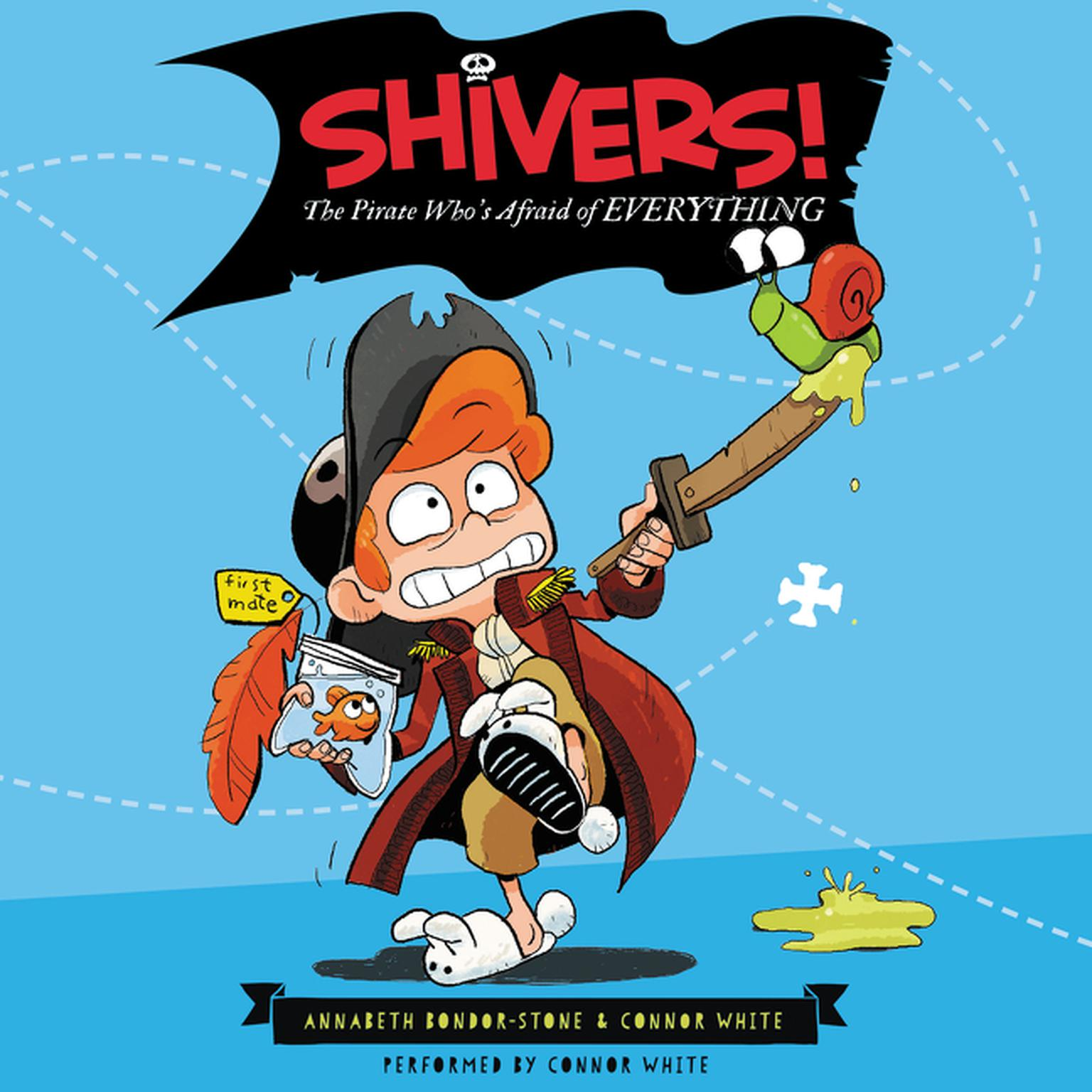 Printable Shivers!: The Pirate Who's Afraid of Everything Audiobook Cover Art