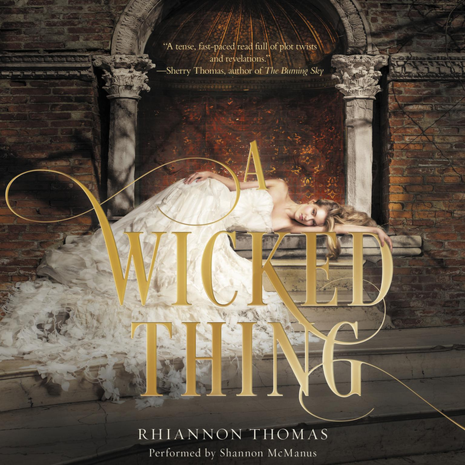 Printable A Wicked Thing Audiobook Cover Art