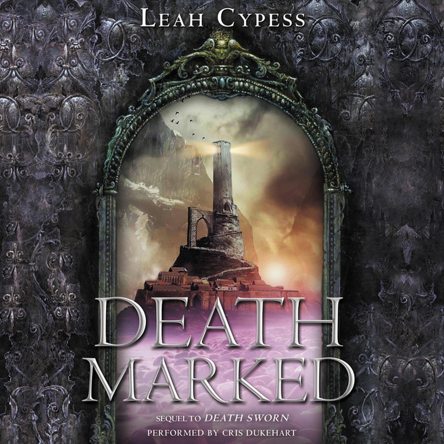 Printable Death Marked Audiobook Cover Art