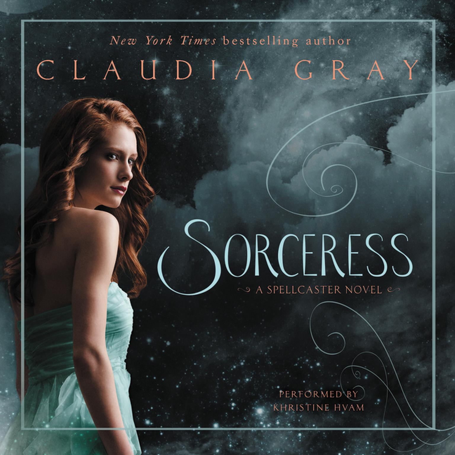 Printable Sorceress: A Spellcaster Novel Audiobook Cover Art