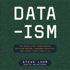 Data-ism: The Revolution Transforming Decision Making, Consumer Behavior, and Almost Everything Else Audiobook, by Steve Lohr