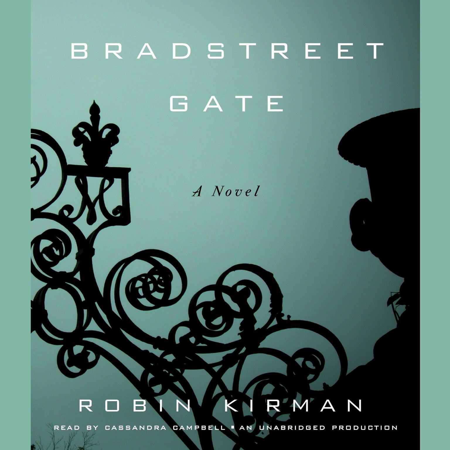 Printable Bradstreet Gate: A Novel Audiobook Cover Art