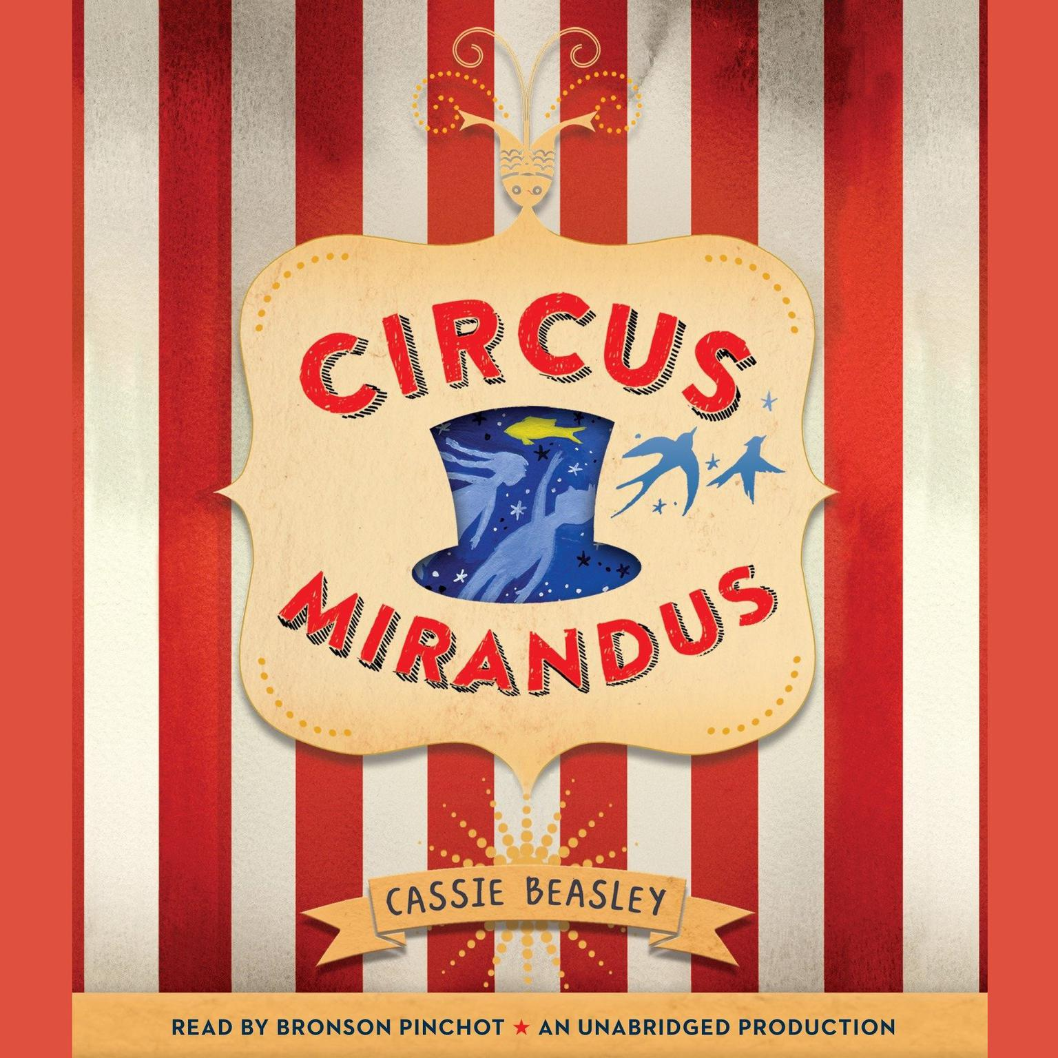 Printable Circus Mirandus Audiobook Cover Art