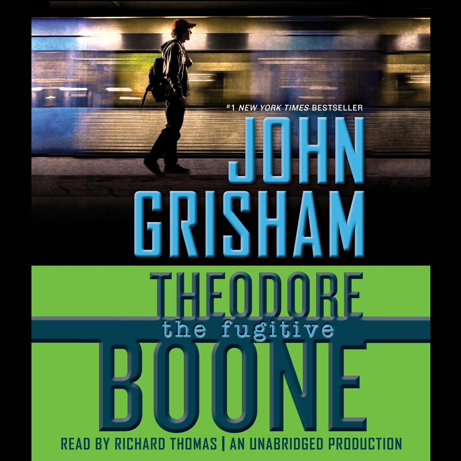 Printable Theodore Boone: The Fugitive Audiobook Cover Art