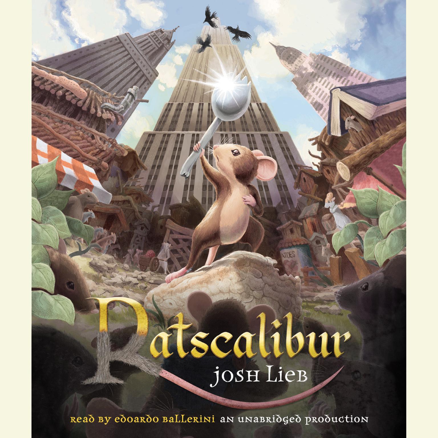 Printable Ratscalibur Audiobook Cover Art