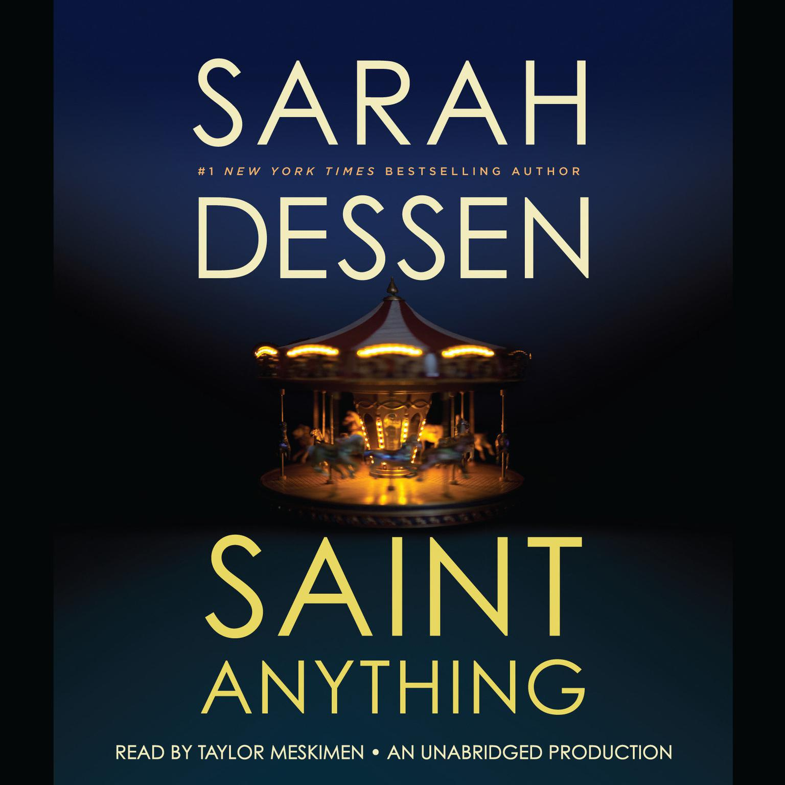Printable Saint Anything Audiobook Cover Art