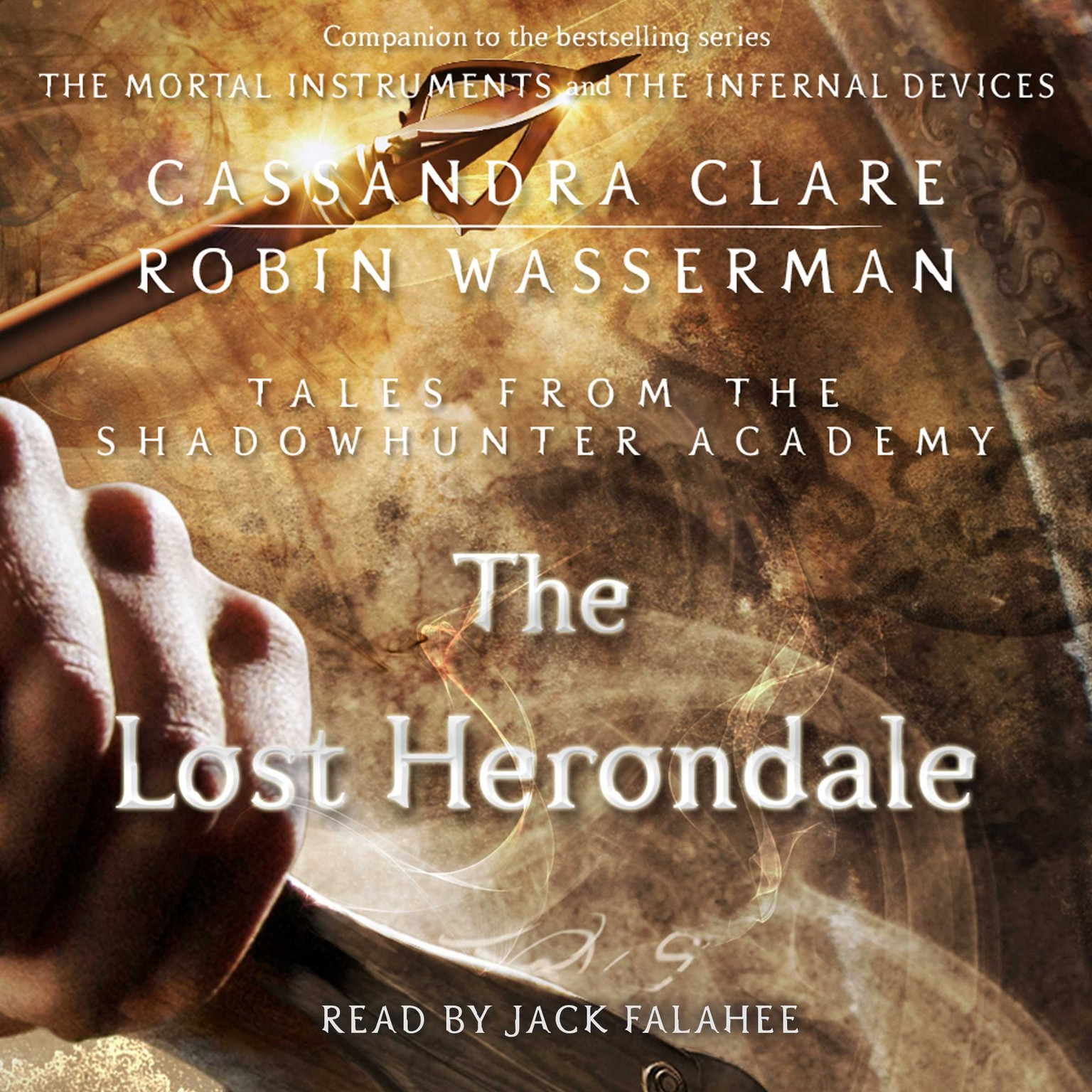 Printable The Lost Herondale Audiobook Cover Art