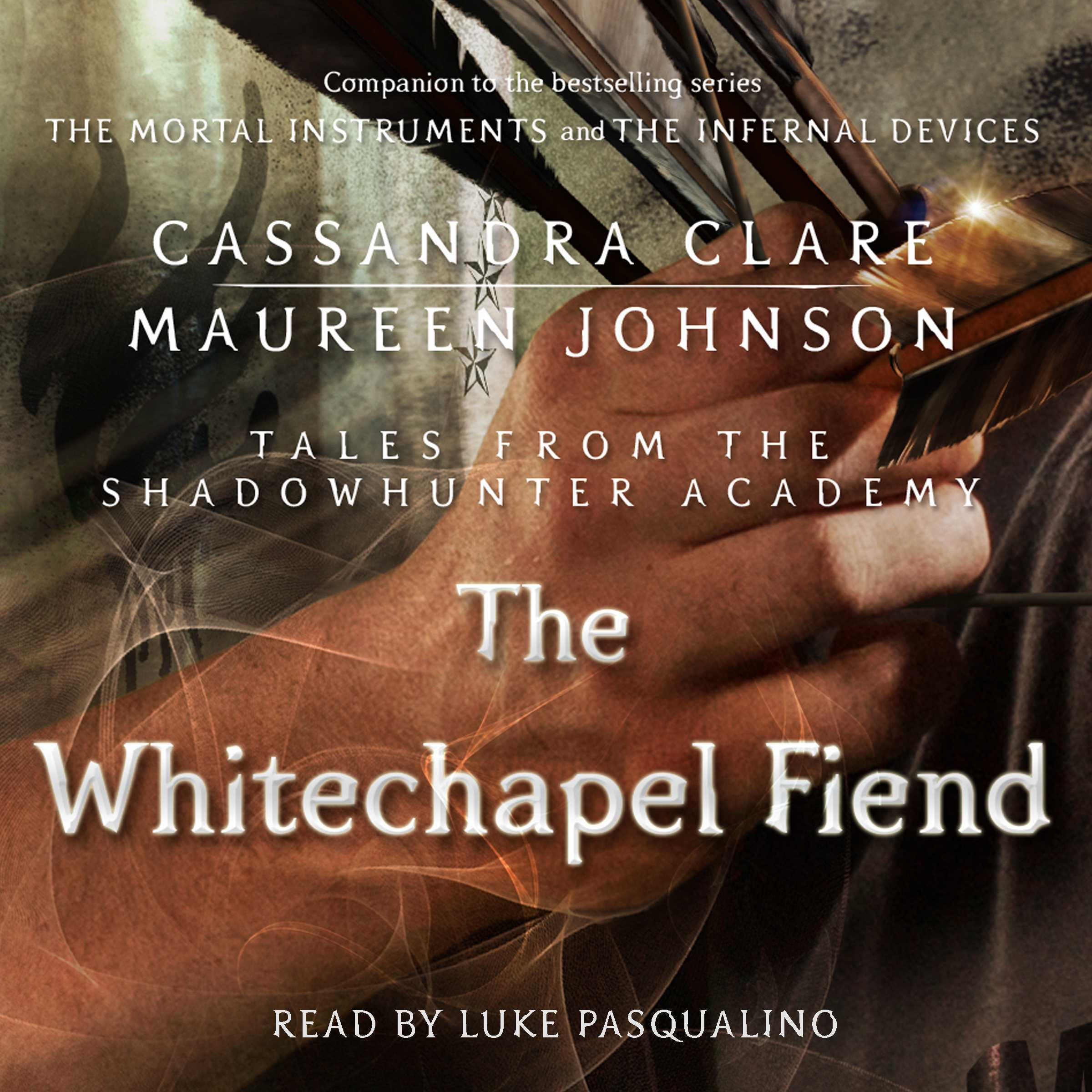 Printable The Whitechapel Fiend Audiobook Cover Art