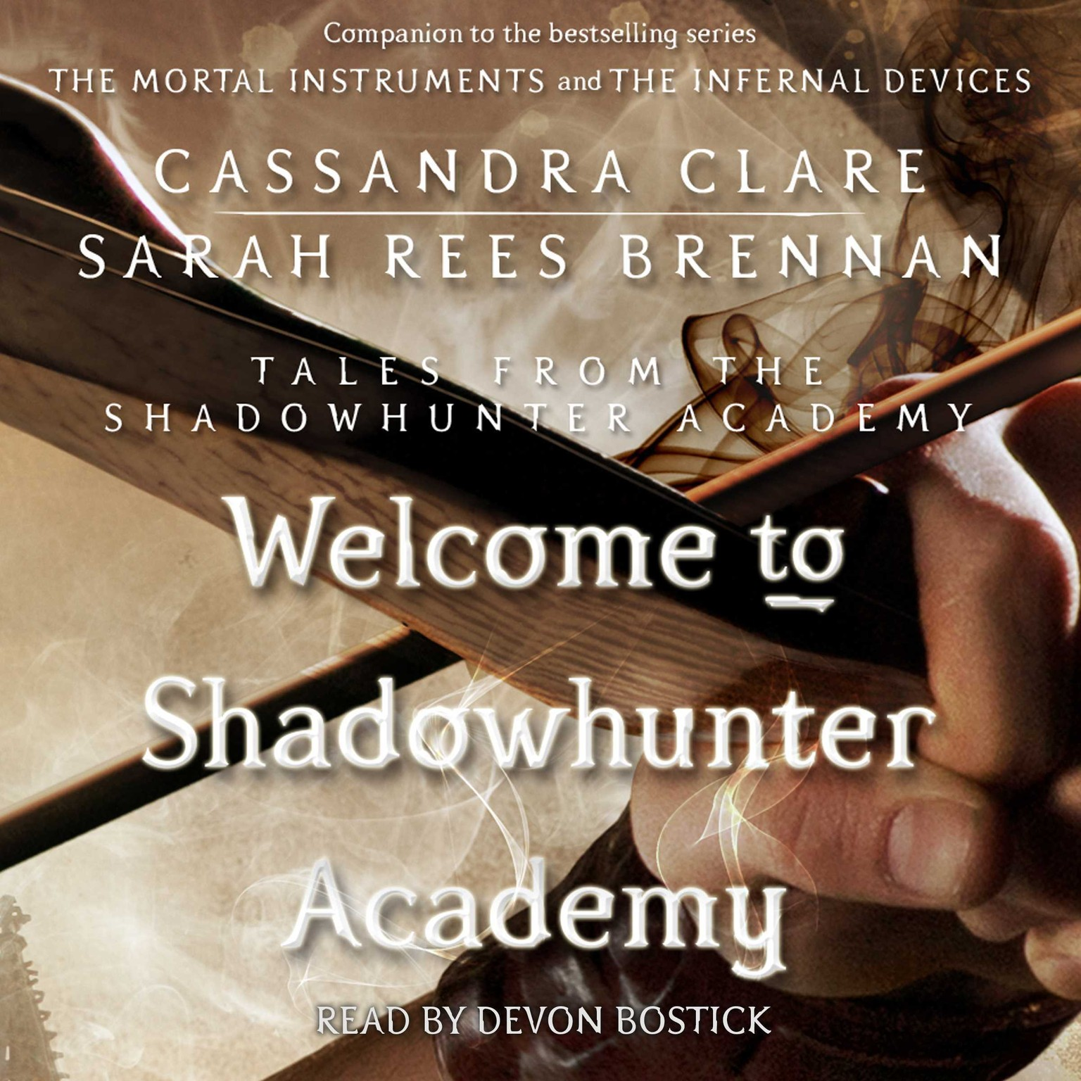 Printable Welcome to Shadowhunter Academy Audiobook Cover Art