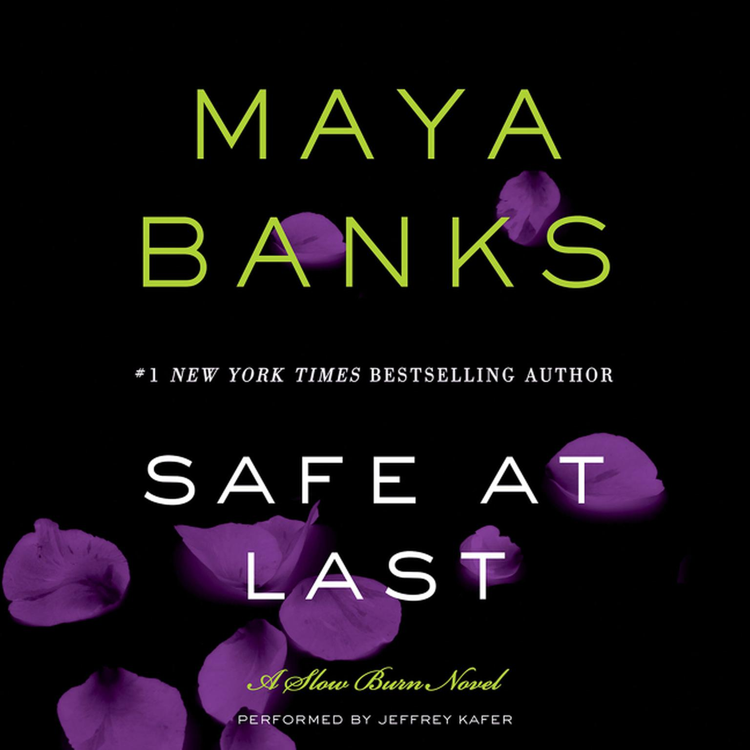 Printable Safe at Last: A Slow Burn Novel Audiobook Cover Art