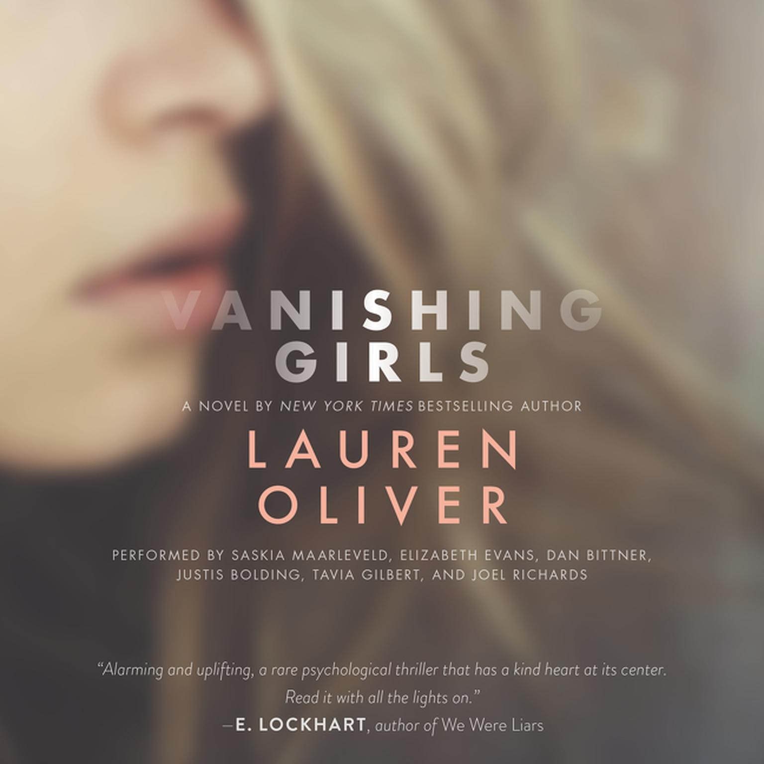 Printable Vanishing Girls Audiobook Cover Art