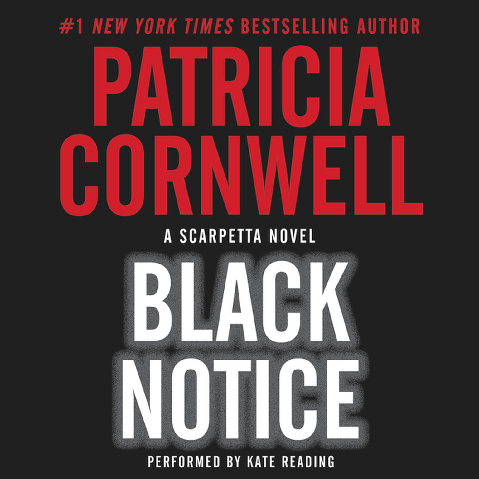 Printable Black Notice Audiobook Cover Art