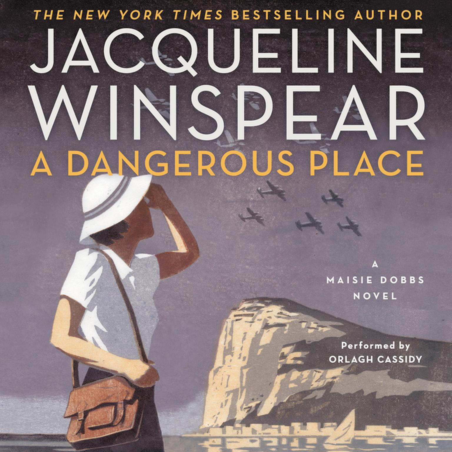 Printable A Dangerous Place: A Maisie Dobbs Novel Audiobook Cover Art