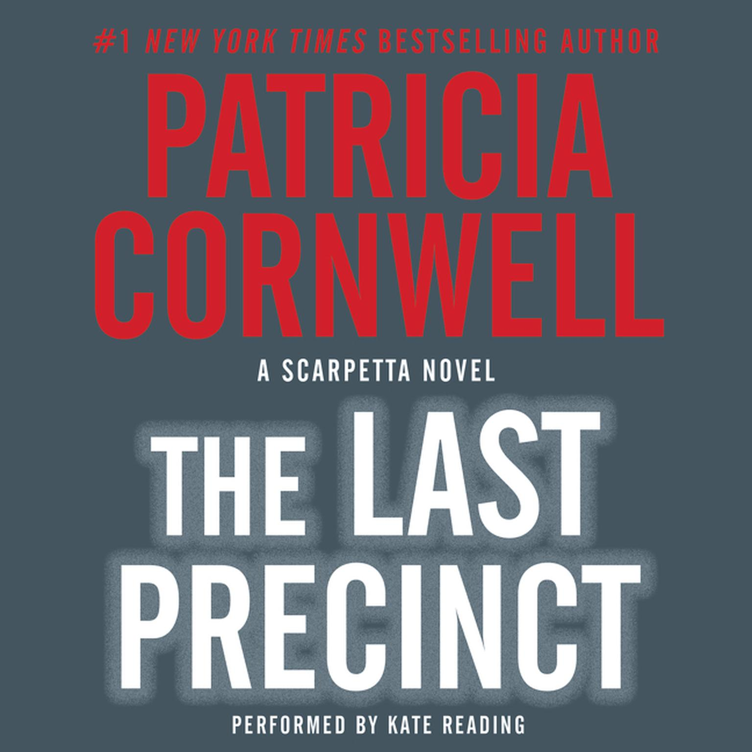Printable The Last Precinct Audiobook Cover Art