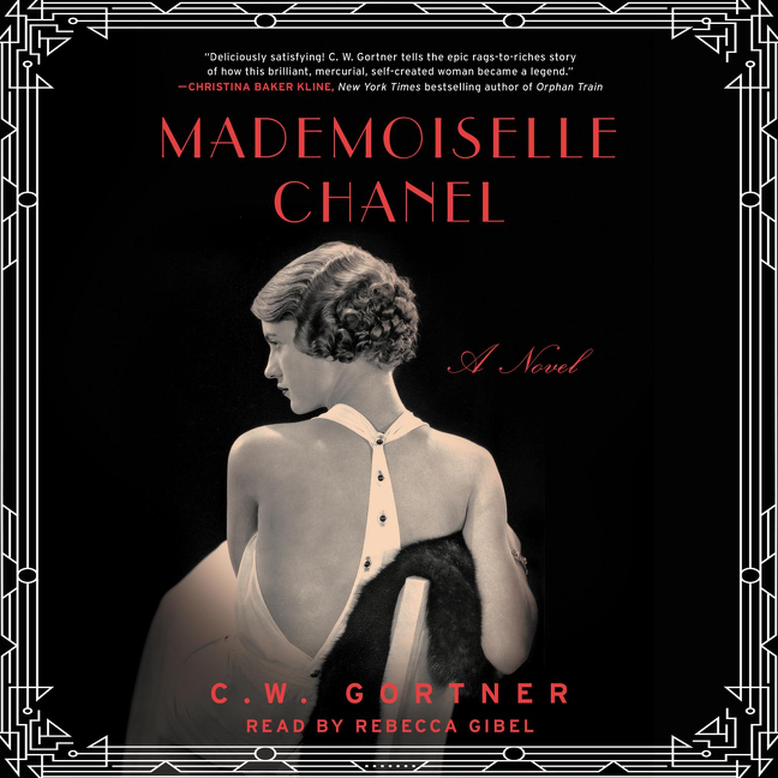 Printable Mademoiselle Chanel Audiobook Cover Art