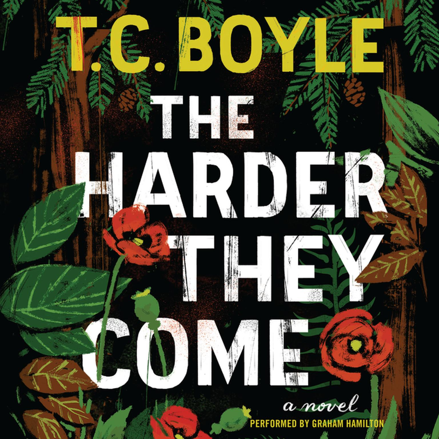 Printable The Harder They Come: A Novel Audiobook Cover Art