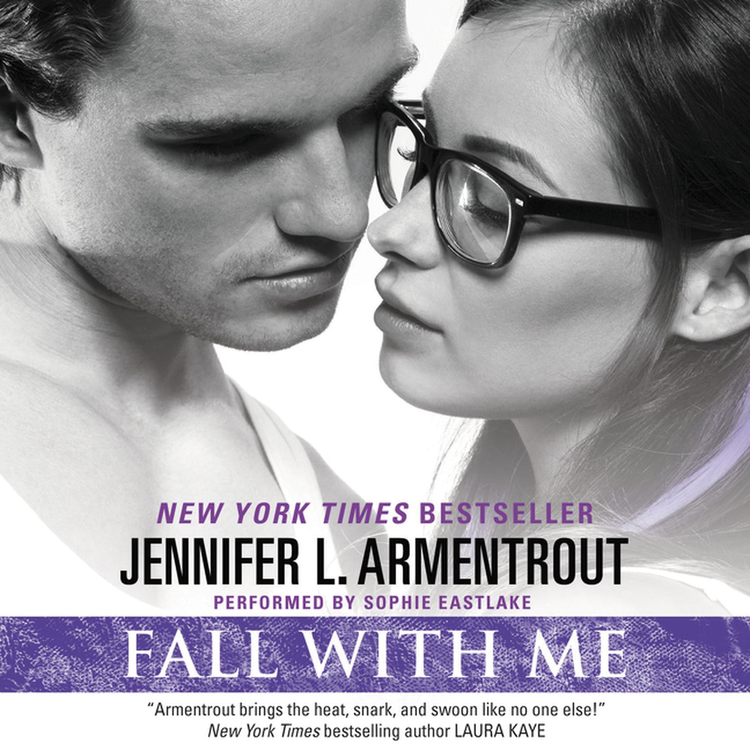Printable Fall with Me Audiobook Cover Art